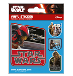 Star Wars Episode VII Vinyl Sticker Flask Pack (5) Resistance