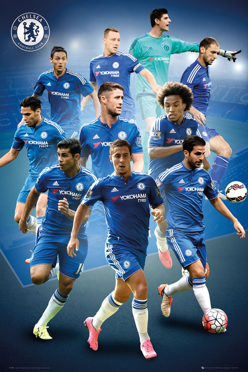 Chelsea Players 15/16 Maxi Poster