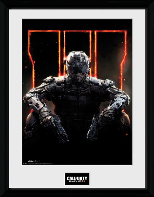 Call of Duty Black Ops 3 Cover Framed Collector Print