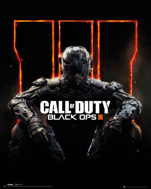 Call Of Duty Black Ops 3 Cover Mini Poster
