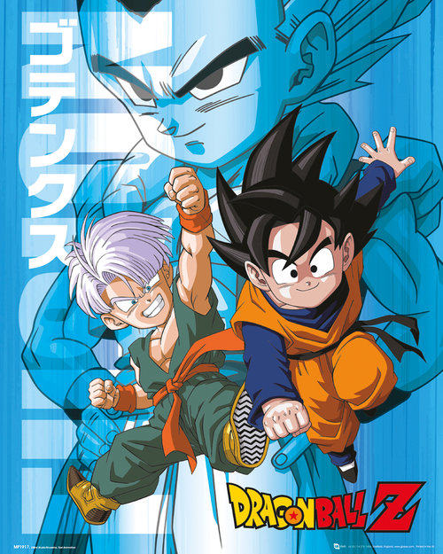 Dragon Ball Z Trunks and Goten Mini Poster