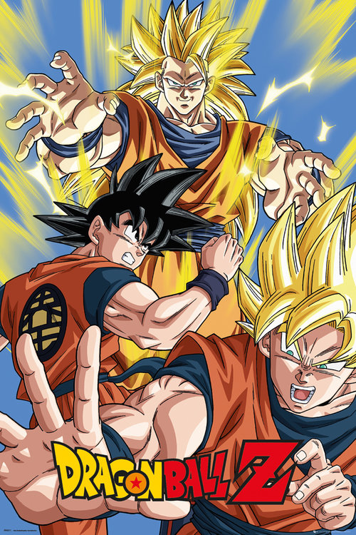 Dragon Ball Z Goku Maxi Poster