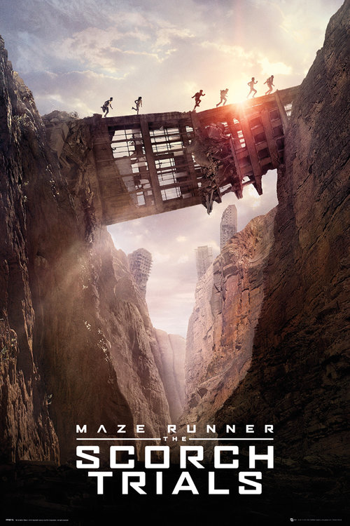 Maze Runner 2 Bridge Maxi Poster