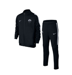 2015-2016 AS Roma Nike Knit Tracksuit (Black) - Kids