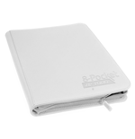 Ultimate Guard 8-Pocket QuadRow ZipFolio XenoSkin White