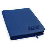 Ultimate Guard 8-Pocket QuadRow ZipFolio XenoSkin Dark Blue