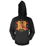 Star Wars Episode VII Hooded Sweater Red Squad