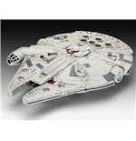 Star Wars Episode VII Build & Play Model Kit with Sound & Light Up Millennium Falcon 20 cm