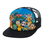 Pokemon Trucker Cap Characters