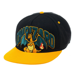 Pokemon Snap Back Baseball Cap Charizard