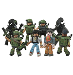 Aliens Minimates Action Figures 5 cm 2-Packs Series 1 Assortment (12)