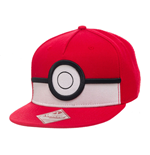 Pokemon Snap Back Baseball Cap 3D Poke Ball