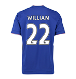 2015-16 Chelsea Home Shirt (Willian 22) - Kids