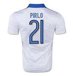 2015-16 Italy Away Shirt (Pirlo 21) - Kids