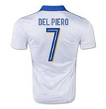 2015-16 Italy Away Shirt (Del Piero 7) - Kids
