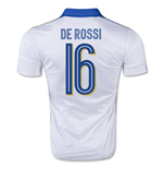 2015-16 Italy Away Shirt (De Rossi 16) - Kids