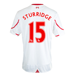 2015-16 Liverpool Away Shirt (Sturridge 15) - Kids