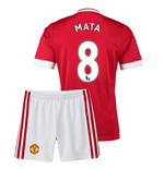 2015-16 Man Utd Home Mini Kit (Mata 8)
