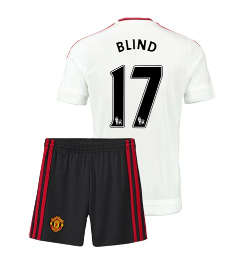 2015-16 Man Utd Away Mini Kit (Blind 17)
