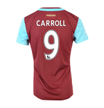 2015-16 West Ham Home Shirt (Carroll 9)
