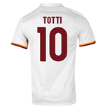 2015-16 Roma Away Shirt (Totti 10)