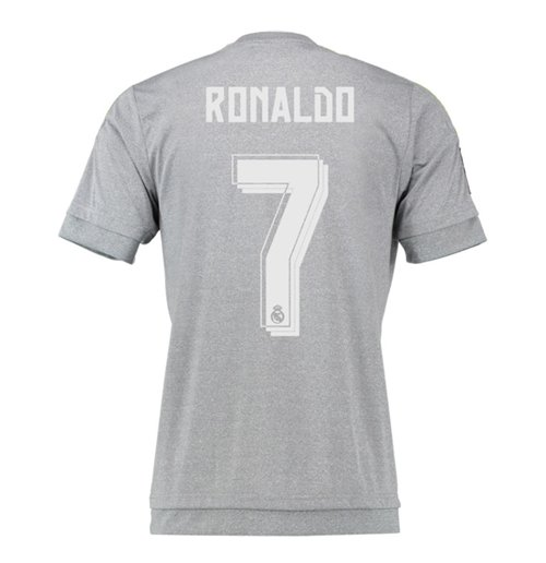 2015-16 Real Madrid Away Shirt (Ronaldo 7) - Kids