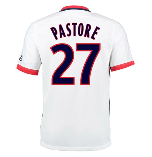 2015-16 PSG Nike Away Kit (Pastore 27)