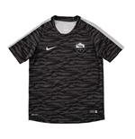 2015-2016 AS Roma Nike Training Shirt (Black) - Kids