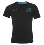 2015-2016 Barcelona Nike Pre-Match Training Shirt (Black) - Kids