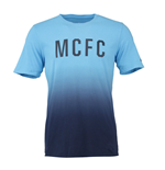 2015-2016 Man City Nike Match Tee (Blue)