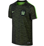 2015-2016 Man City Nike Flash Training Shirt (Black) - Kids