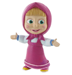 Masha and the Bear Mini Figure Masha 6 cm