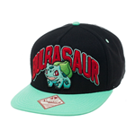 Pokemon Snap Back Baseball Cap Bulbasaur