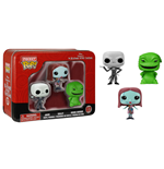 Nightmare Before Christmas Pocket POP! Tins Figures 3-Pack 4 cm