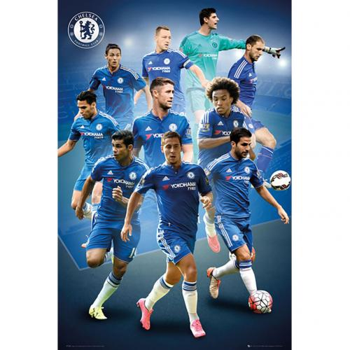 Chelsea F.C. Poster Players 25