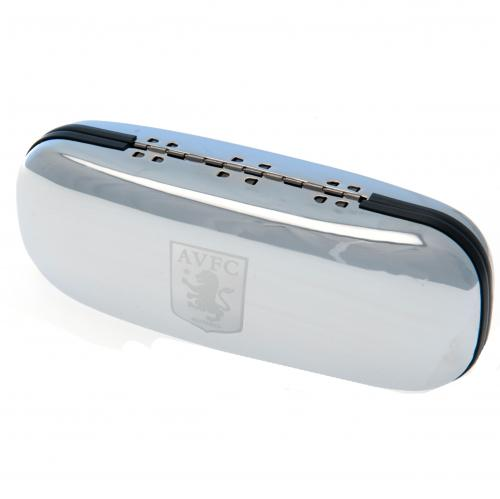 Aston Villa F.C. Chrome Glasses Case
