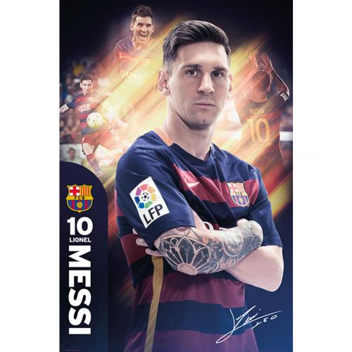 F.C. Barcelona Poster Messi 30