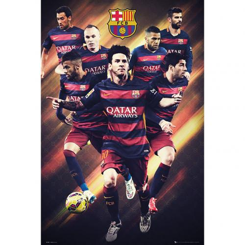 F.C. Barcelona Poster Players 28