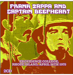 Vynil Frank Zappa & Captain Beefheart - Live At Providence College Ri April 26 1975 (3 Lp)