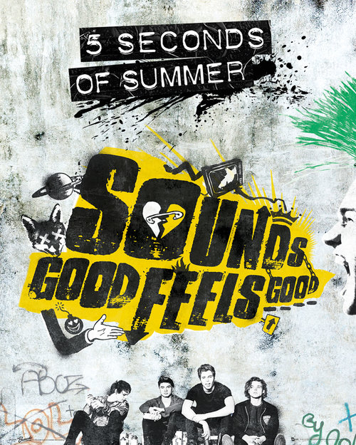 5 Seconds Of Summer Sounds Good Feels Good Mini Poster