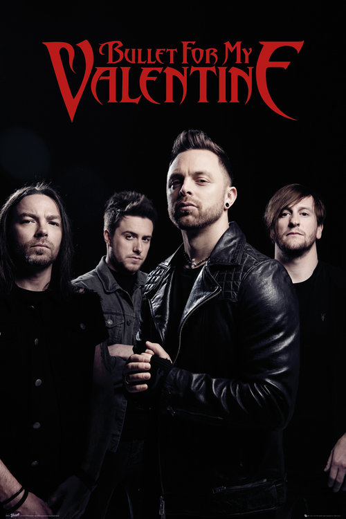 Bullet For My Valentine Band Maxi Poster For Only 163 3 94