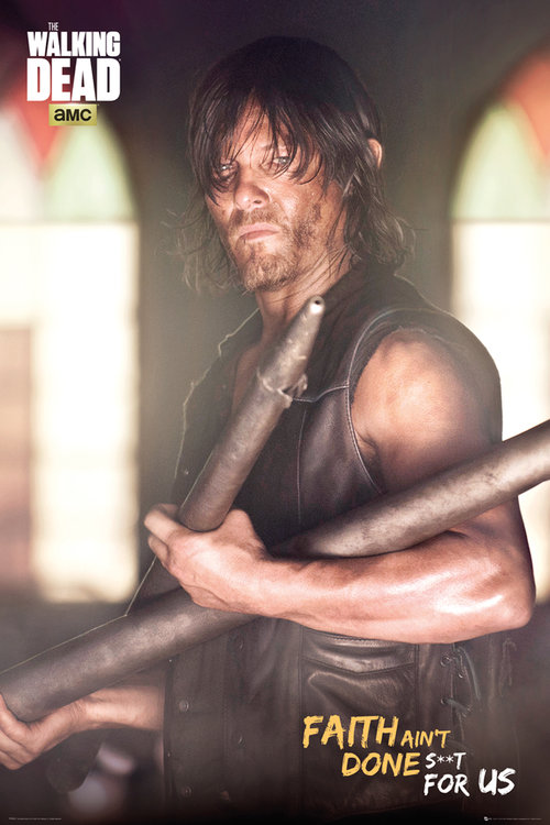 The Walking Dead Daryl Faith Portrait Maxi Poster