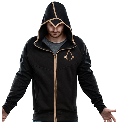 Assassin S Creed Syndicate Zipper Hoodie Bronze Logo For