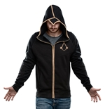 Assassin's Creed Syndicate Zipper Hoodie Bronze Logo
