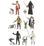 Star Wars Action Figures 10 cm 2015 Jungle/Space Wave 1 Assortment (12)