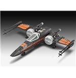 Star Wars Episode VII Build & Play Model Kit with Sound Poe's X-Wing Fighter 22 cm