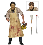 Texas Chainsaw Massacre Retro Action Figure 40th Anniversary Ultimate Leatherface 20 cm