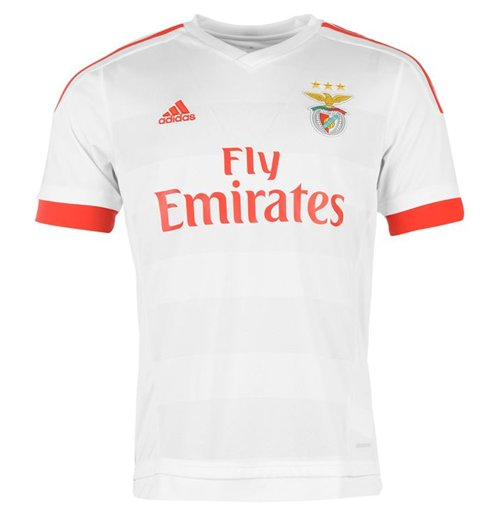 the latest 8374a 5e53d 2015-2016 Benfica Adidas Away Shirt (Kids)