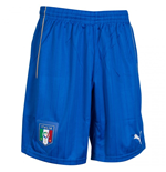 2015-2016 Italy Puma Away Shorts (Blue) - Kids