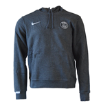 2015-2016 PSG Nike Core Hooded Top (Black) - Kids